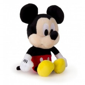 Jucarie de plus cu sunete Mickey Mouse - 17 cm