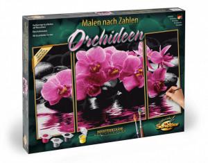 Kit Pictura Pe Numere Schipper Orhidee, 3 Tablouri