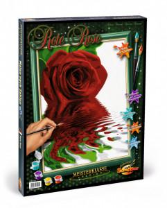 Kit Pictura Pe Numere Schipper Trandafirul Rosu