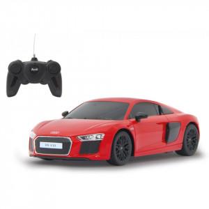 Masina Cu Telecomanda Audi R8 Rosu Cu Scara 1 La 24