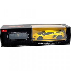 Masina Cu Telecomanda Lamborghini Aventador Svj Galben Cu Scara 1 La 24