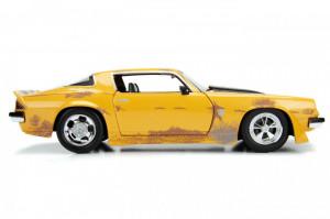 Masinuta Metalica Transformers 1977 Chevy Camaro Scara 1 La 24