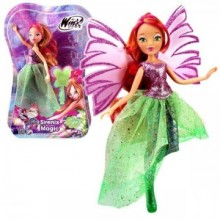 Papusa Winx Sirenix Magic - Flora