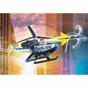 Playmobil Elicopter De Politie In Urmarirea Dubei