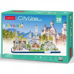 Puzzle 3D Bavaria 178 Piese