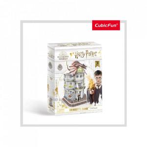 Puzzle 3D Harry Potter - Banca Gringotts 74 Piese