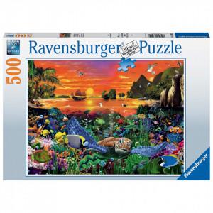 Puzzle Testoasa, 500 Piese
