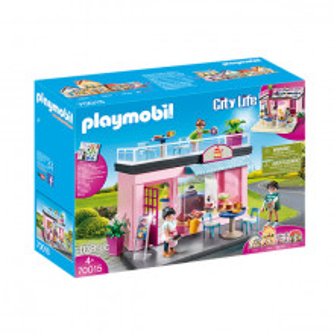 Set de joaca Playmobil City Life, Cafenea