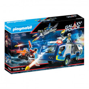 Set de joaca Playmobil, Masina De Teren A Politiei Galactice