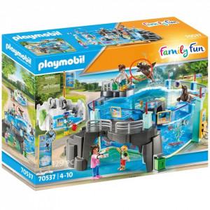 Set de joaca Playmobil O Zi La Acvariu