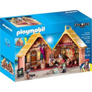 Set Mobil cu figurine Playmobil, Fortareata Piratilor