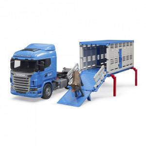 Bruder - Camion Transport Bovine Scania R-Series Si O Vita