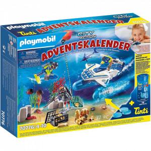 Calendar Craciun Playmobil - Politia Sub Apa