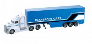 Camion Tir Transport Cart Frictiune Lumini Si Sunete Scara 1:50