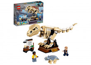 Expozitia de fosile de T. Rex