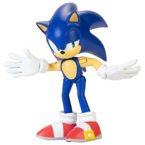 Figurina Articulata Sonic The Hedgehog 6cm, model Sonic