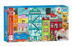 Hape Puzzle Orasul Animat