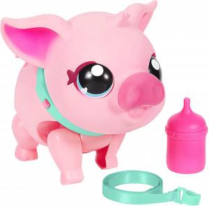 Jucarie interactiva Little Live Pets, Porcusorul Pinki