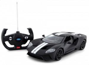 Masina Cu Telecomanda Ford Gt Negru Cu Scara 1 La 14