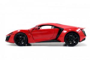 Masinuta Metalica Fast And Furious Lykan Hypersport Scara 1:24