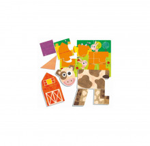 Montessori Puzzle Tactil Ferma