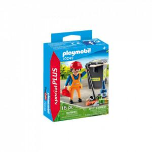 Playmobil Curatator De Strazi