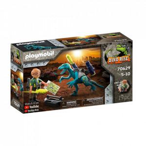 Playmobil Deinonychus - Gata De Lupta