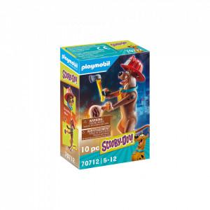 Playmobil Figurina De Colectie - Scooby-Doo! Pompier