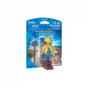 Playmobil Figurina Muncitor In Constructii