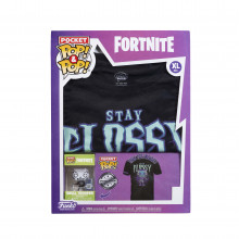 Pocket Pop! Fortnite + Tricou Skull Trooper M