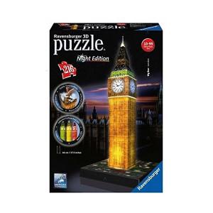 Puzzle 3D Big Ben, Editie Luminoasa, 216 Piese