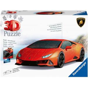 Puzzle 3D Lamborghini Huracan, 108 Piese