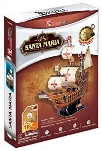 Puzzle 3D Nava Santa Maria 113 Piese