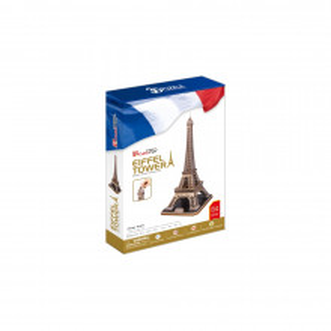 Puzzle 3D Turnul Eiffel (Nivel Complex 82 Piese)