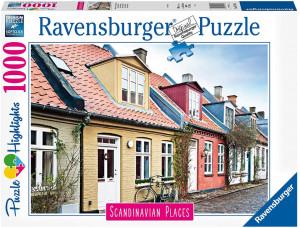 Puzzle Aarhus Danemarca, 1000 Piese