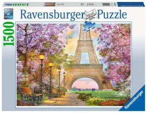 Puzzle Alee Romantic Paris, 1500 Piese