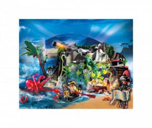 Set de joaca Playmobil Calendar Craciun, Pirati