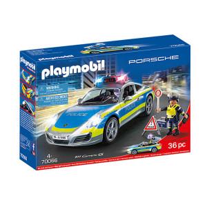 Set de joaca Playmobil City Action, Porsche 911 Carrera 4S Politie