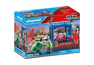 Set de joaca Playmobil Spatiu Depozitare Marfa