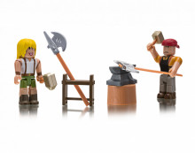 Set de joaca Roblox cu 2 Figurine, model Forger S Workshop