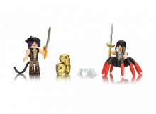 Set de joaca Roblox cu 2 Figurine, model Neverland Lagoon Salameen The Spider Queen