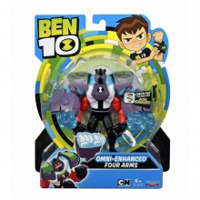 Ben 10 - Figurina 4 Brate Omni-Enhanced - 12 cm