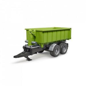 Bruder - Remorca Cu Container Pentru Tractoare