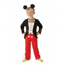 Costum clasic Mickey Mouse (Marime S)