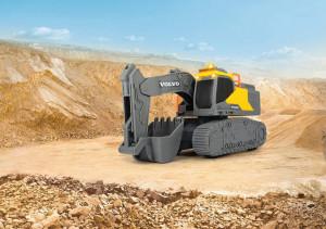 Excavator Volvo Cu Senile