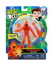 Figurina Ben 10 Alien Worlds Heatblast, 12 Cm