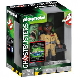 Figurina De Colectie Playmobil Ghostbusters, Zeddemore