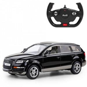 Masina Cu Telecomanda Audi Q7 Negru Scara 1 La 14