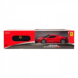 Masina Cu Telecomanda Ferrari 458 Speciale Rosu Cu Scara 1 La 24