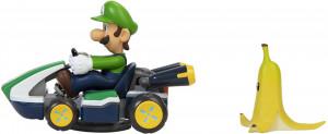 Masinuta Mario Kart Spin Out, model Luigi